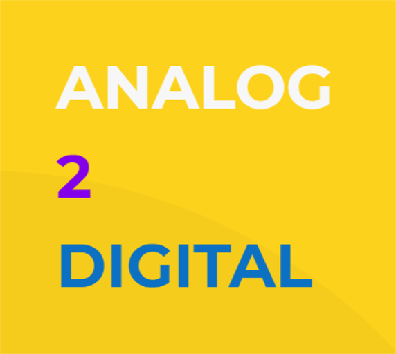 Analog nach Digital - Leistungsangebot